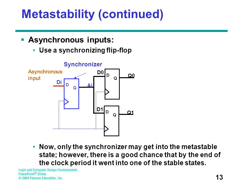 Metastability (continued)