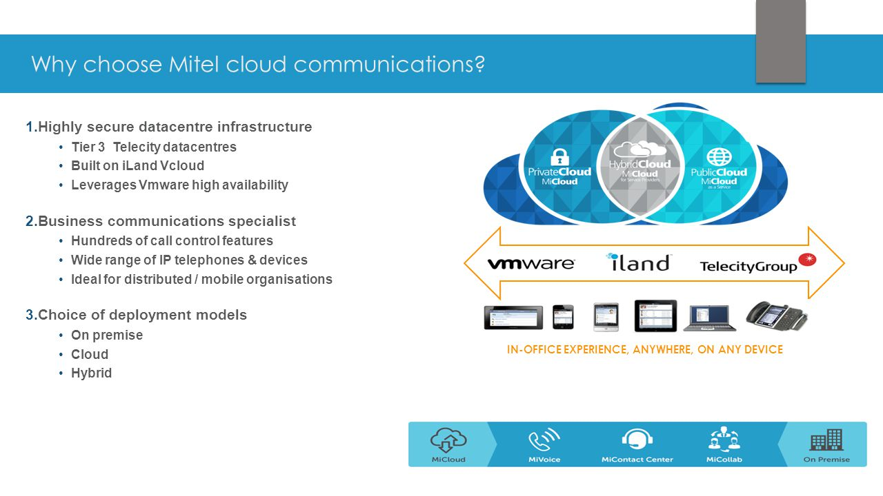 Why choose Mitel cloud communications