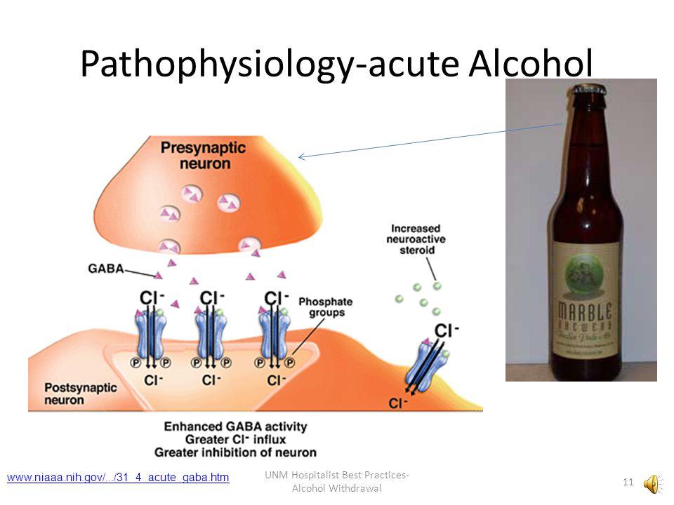 Pathophysiology-acute Alcohol