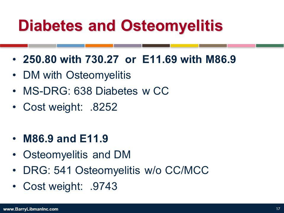 Diabetes and Osteomyelitis