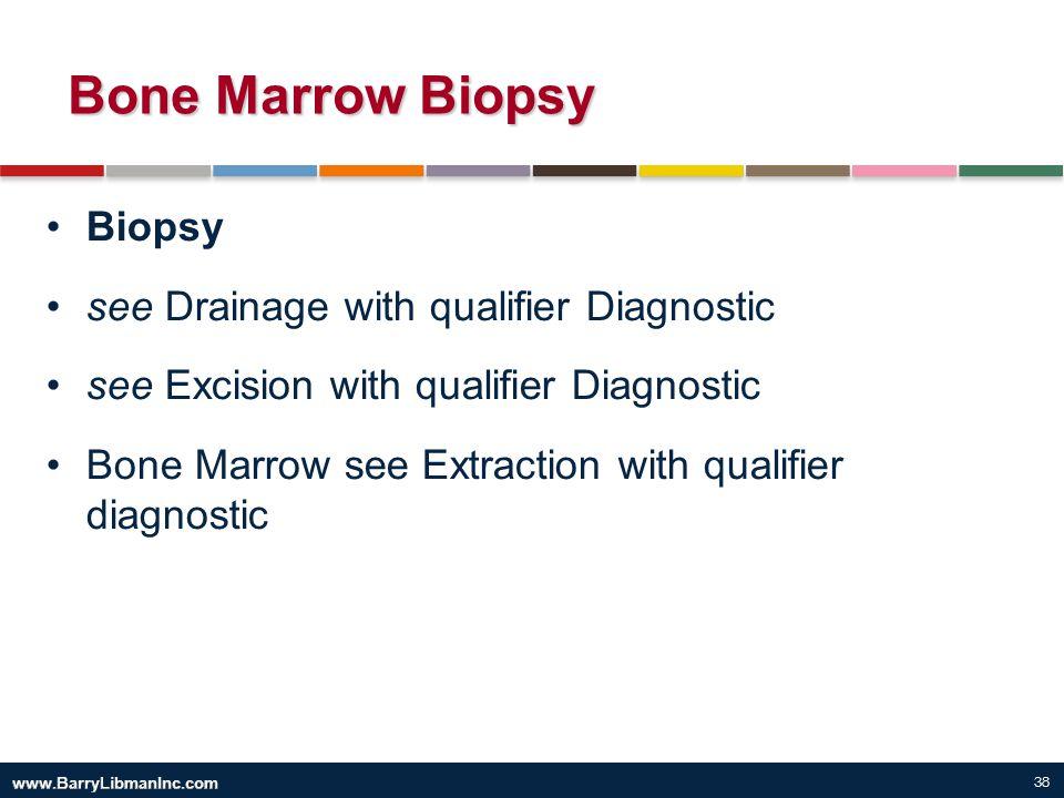 Bone Marrow Biopsy Biopsy see Drainage with qualifier Diagnostic