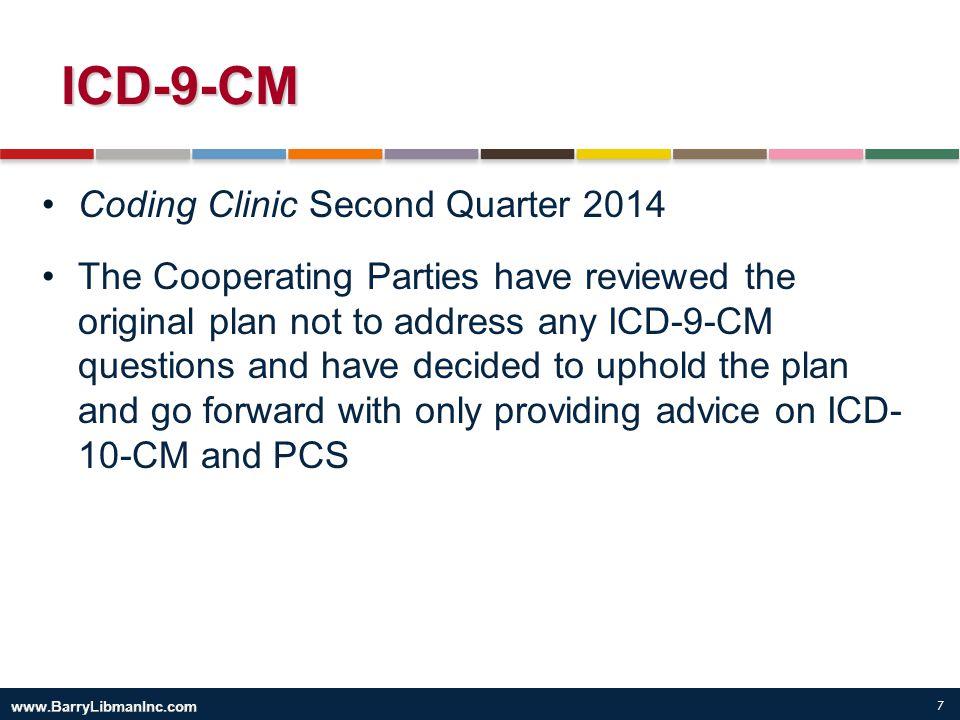 ICD-9-CM Coding Clinic Second Quarter 2014