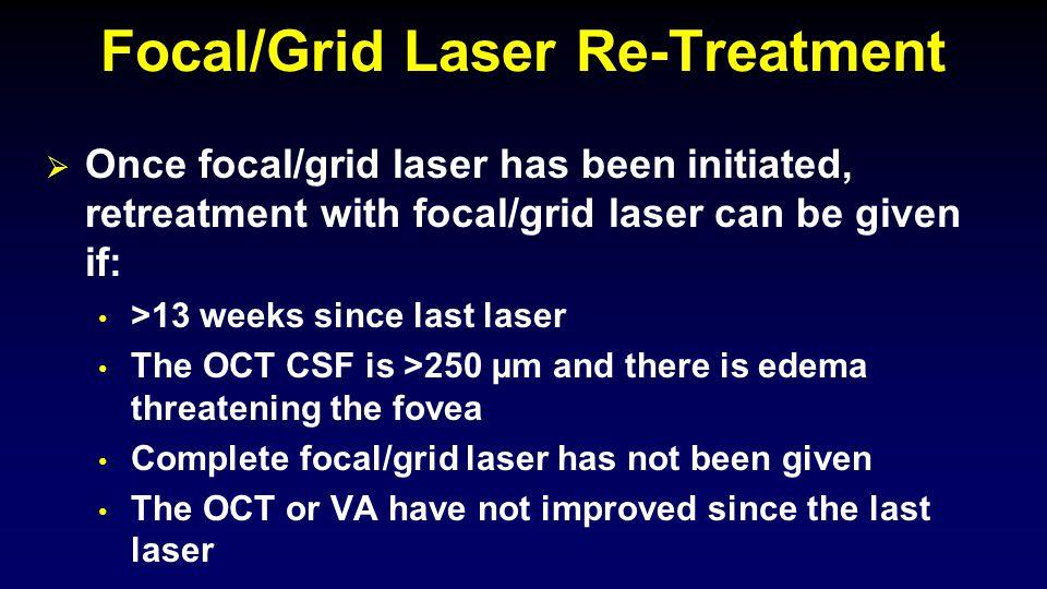 Focal/Grid Laser Re-Treatment