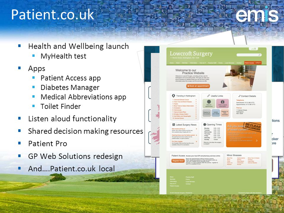 Patient.co.uk Health and Wellbeing launch Apps