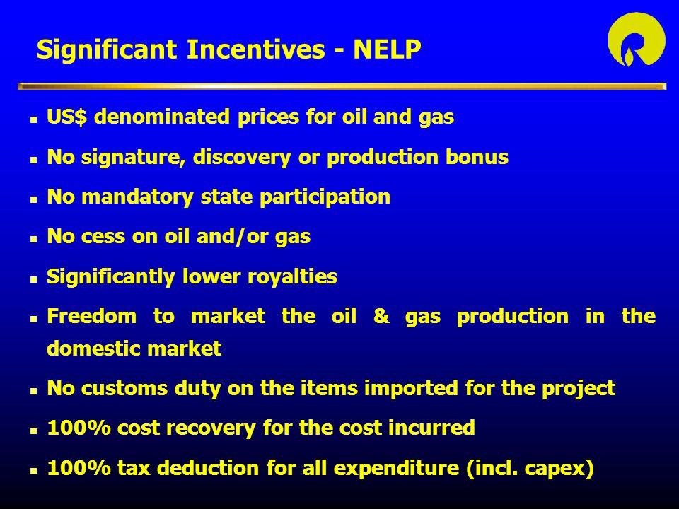 Significant Incentives - NELP