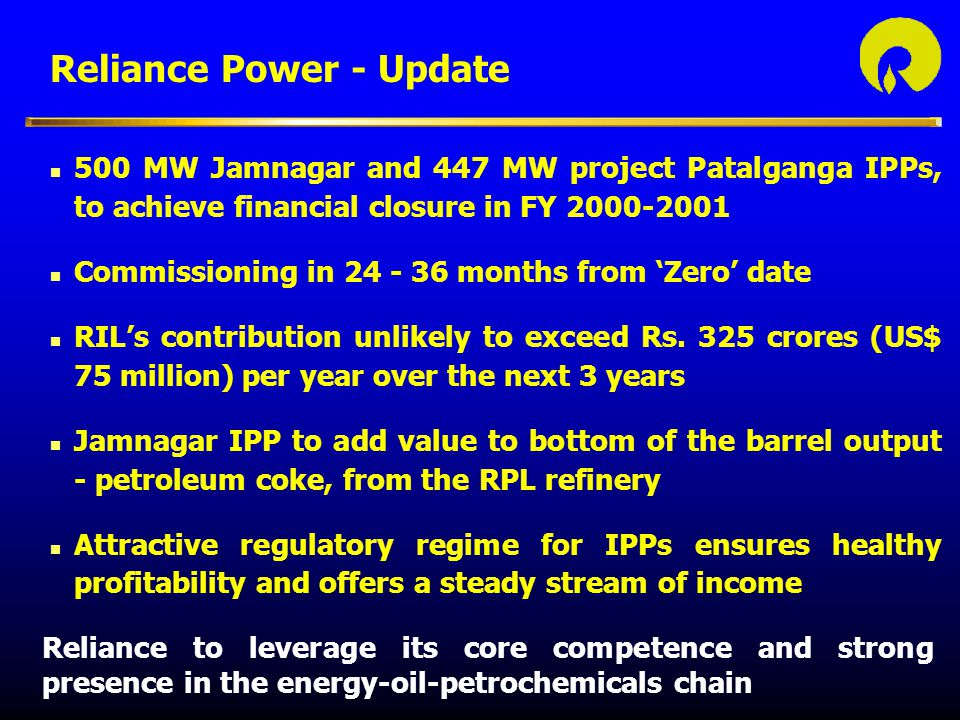 Reliance Power - Update
