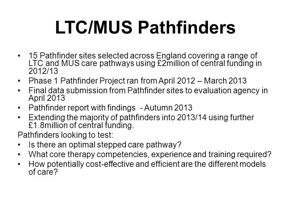 LTC/MUS Pathfinders