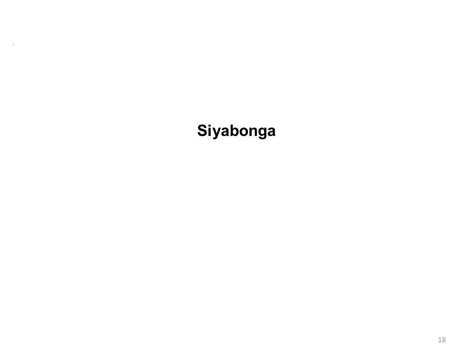 . Siyabonga