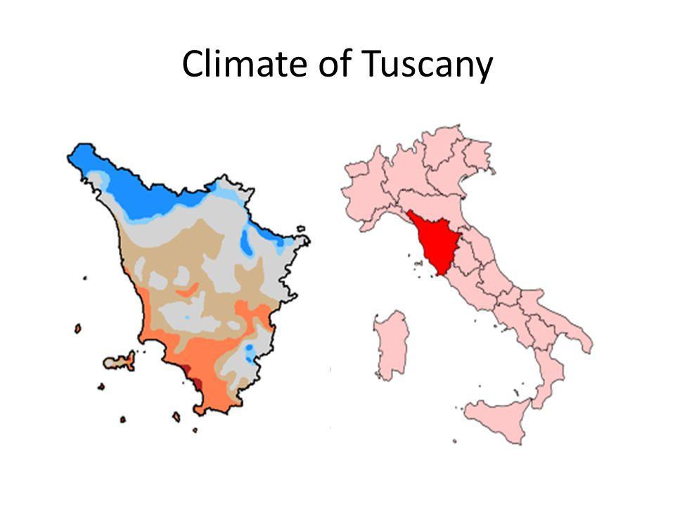 Climate of Tuscany