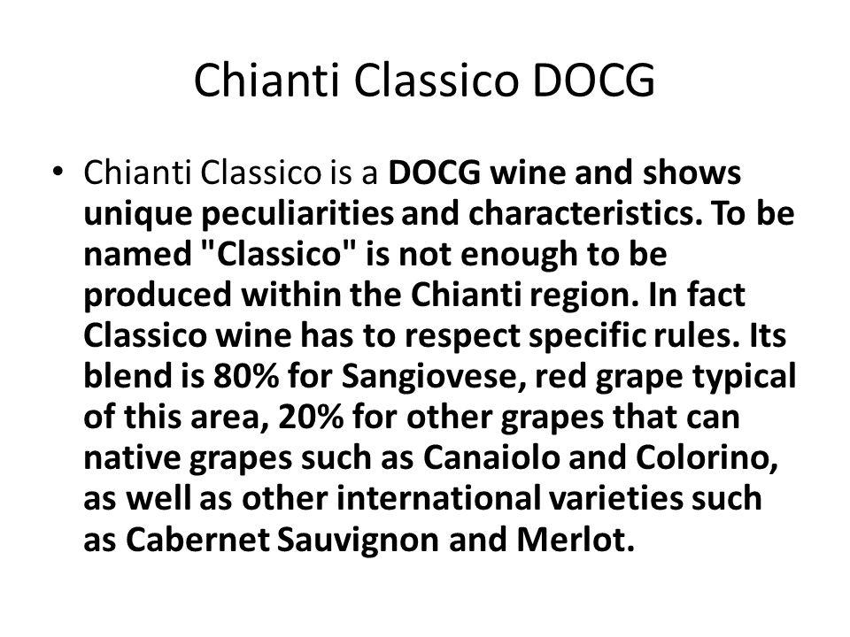 Chianti Classico DOCG