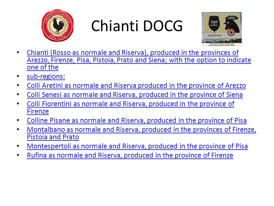 Chianti DOCG