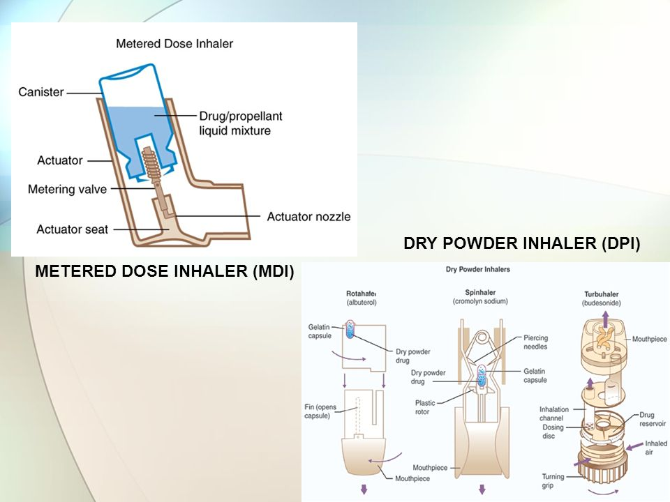 DRY POWDER INHALER (DPI)
