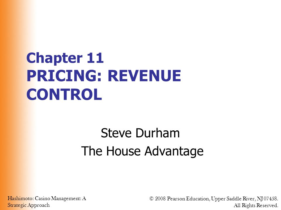 Chapter 11 PRICING: REVENUE CONTROL