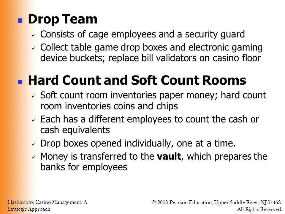 Hard Count and Soft Count Rooms
