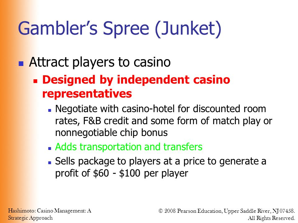 Gambler's Spree (Junket)