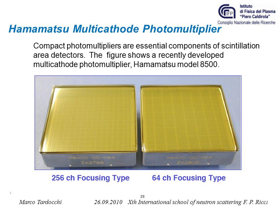 Hamamatsu Multicathode Photomultiplier