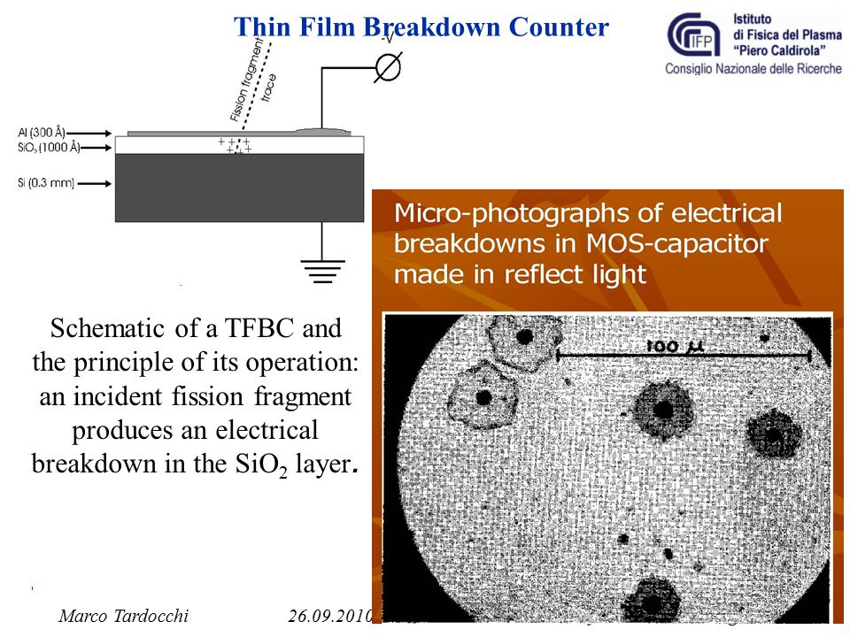 Thin Film Breakdown Counter