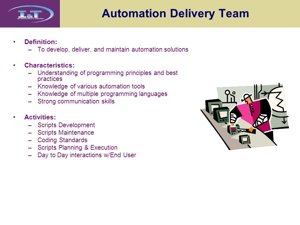 Automation Delivery Team