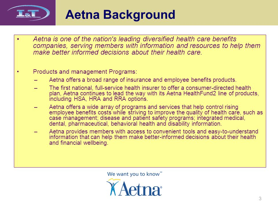 Aetna Background