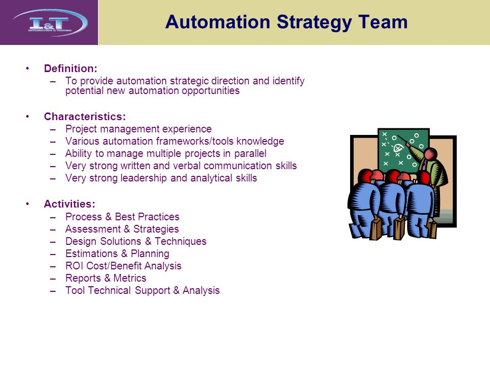 Automation Strategy Team