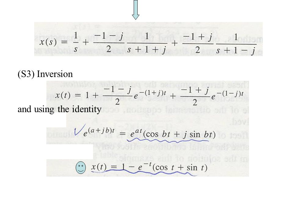 (S3) Inversion and using the identity