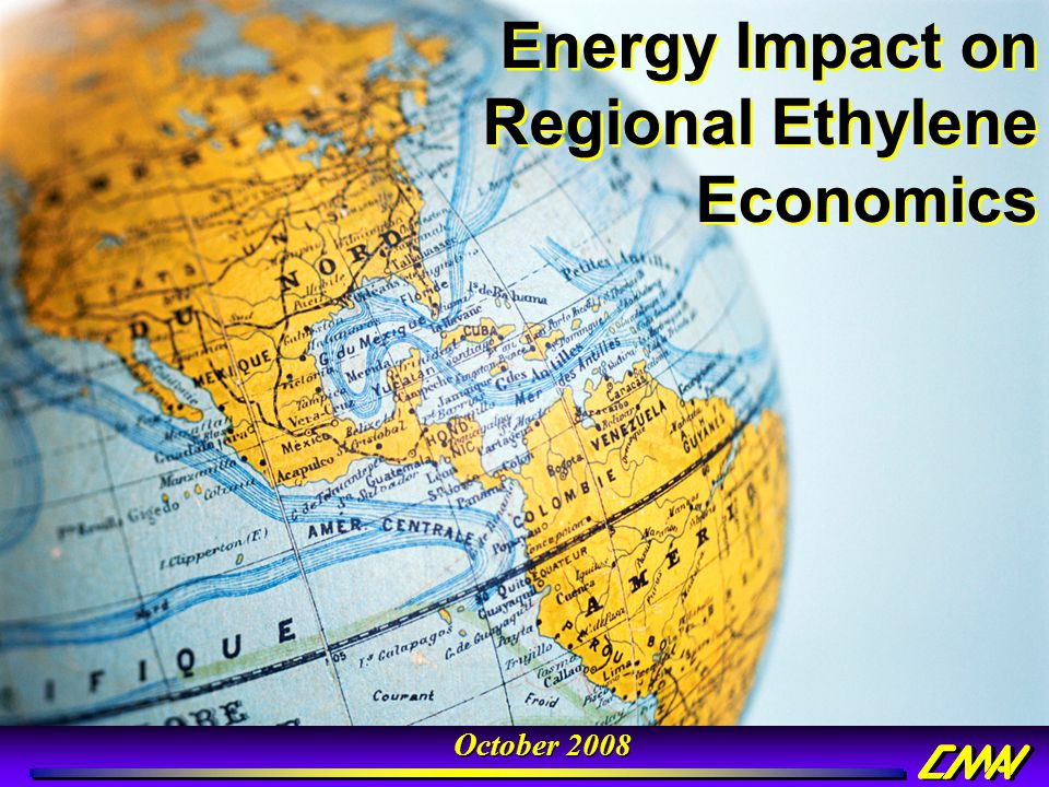 Energy Impact on Regional Ethylene Economics