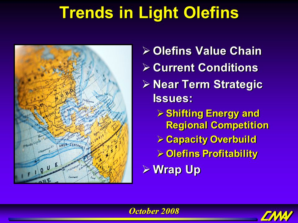 Trends in Light Olefins