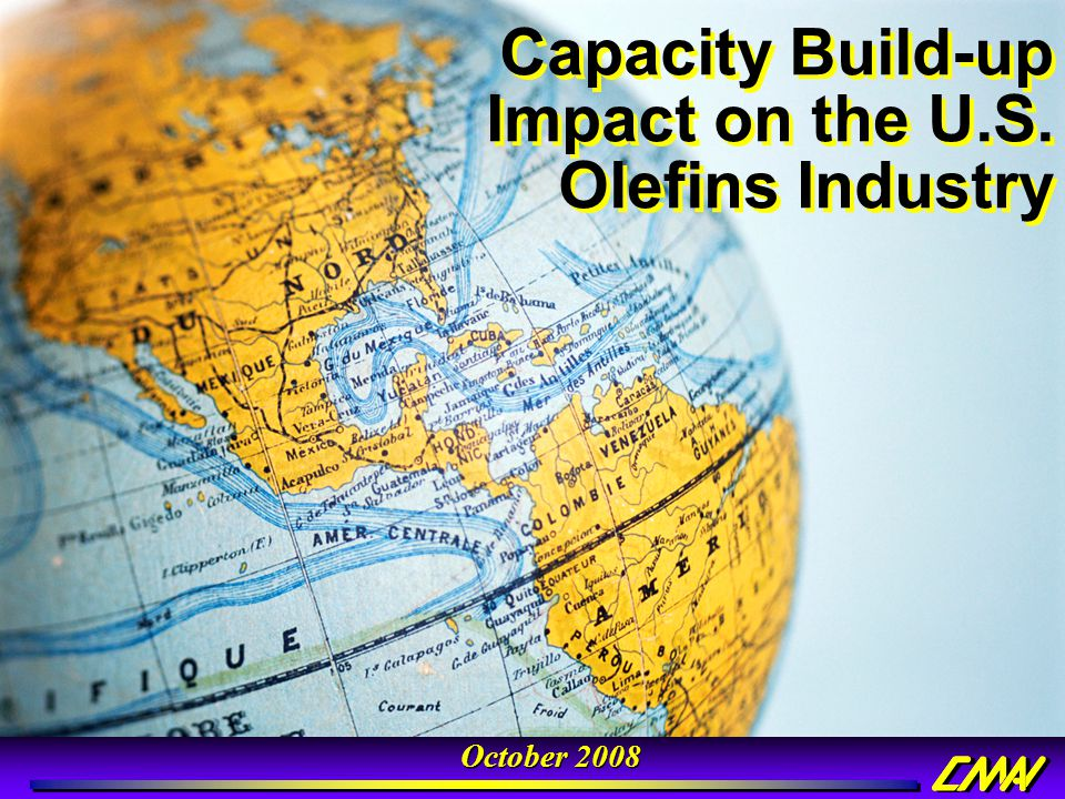 Capacity Build-up Impact on the U.S. Olefins Industry