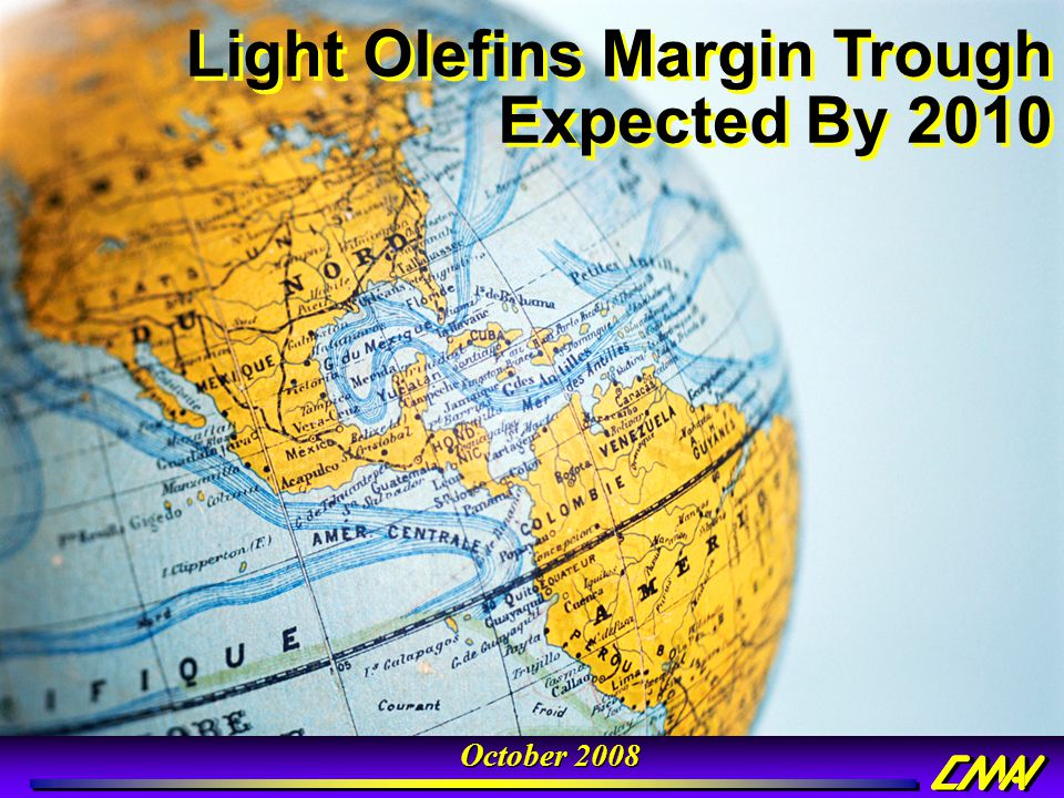 Light Olefins Margin Trough Expected By 2010