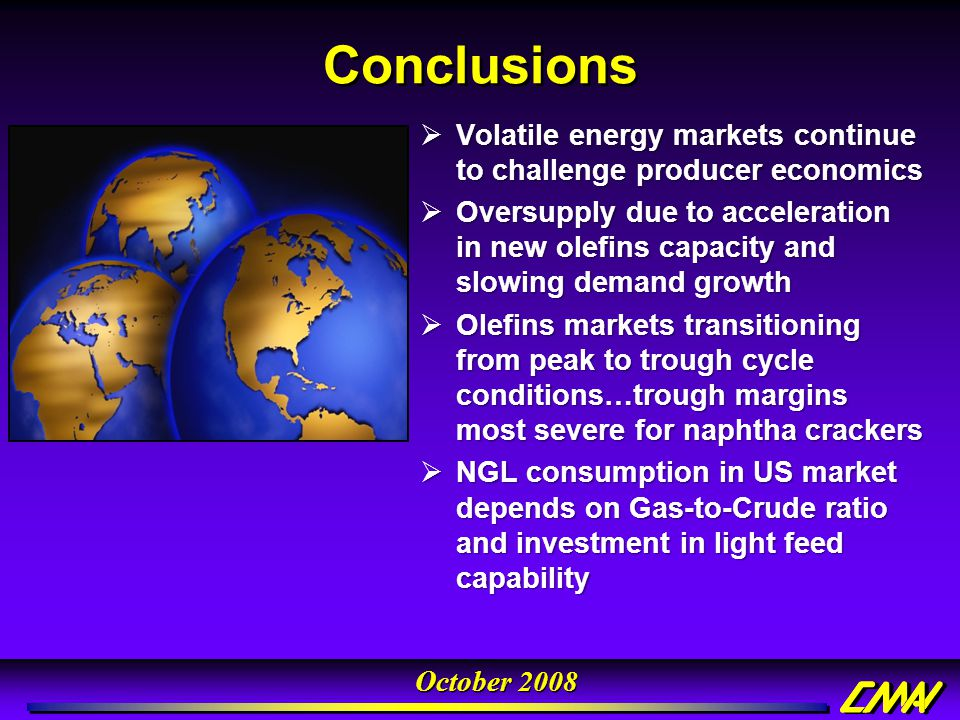 Conclusions Volatile energy markets continue to challenge producer economics.