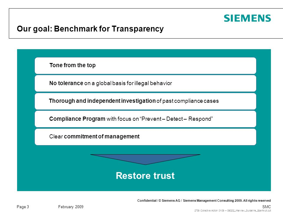 Our goal: Benchmark for Transparency