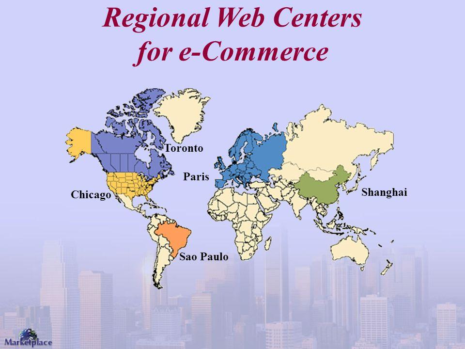 Regional Web Centers for e-Commerce