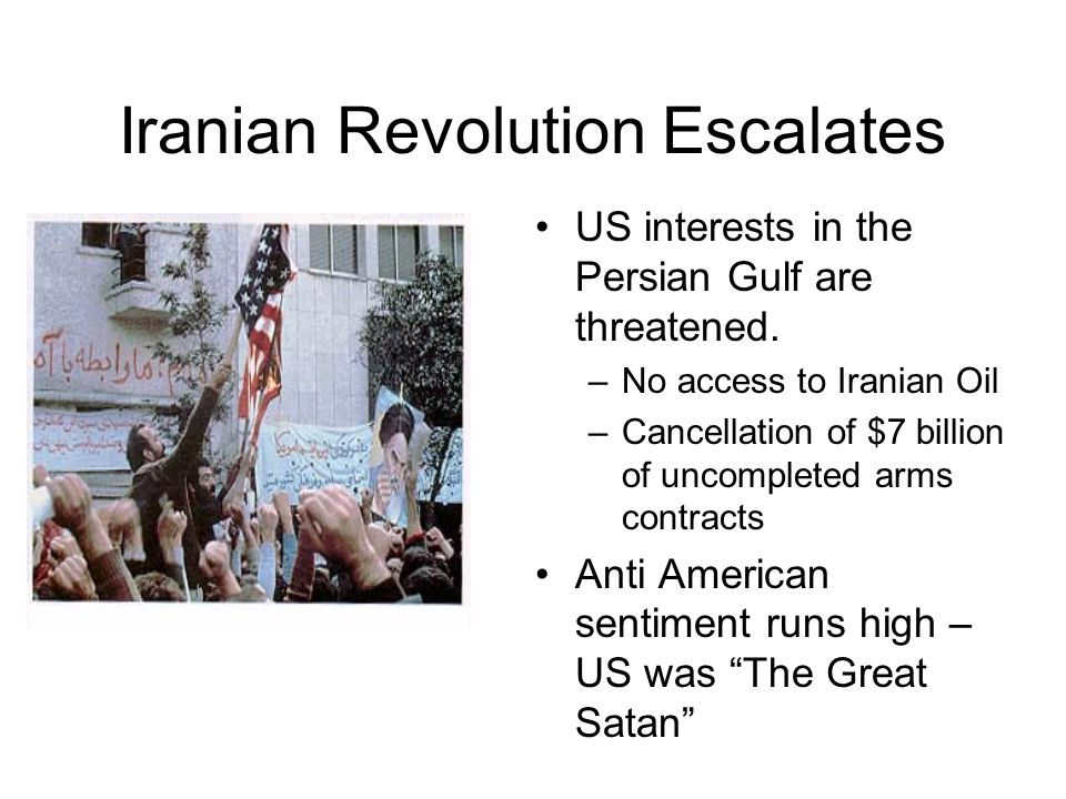 Iranian Revolution Escalates