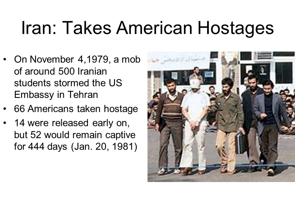 Iran: Takes American Hostages