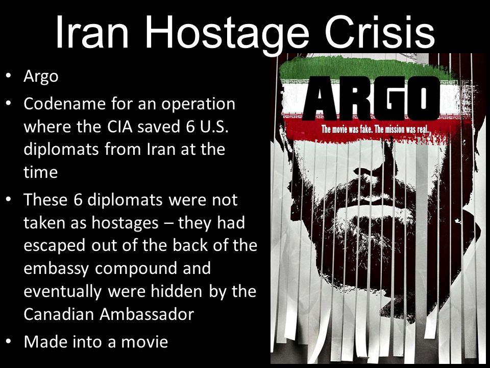 Iran Hostage Crisis Argo