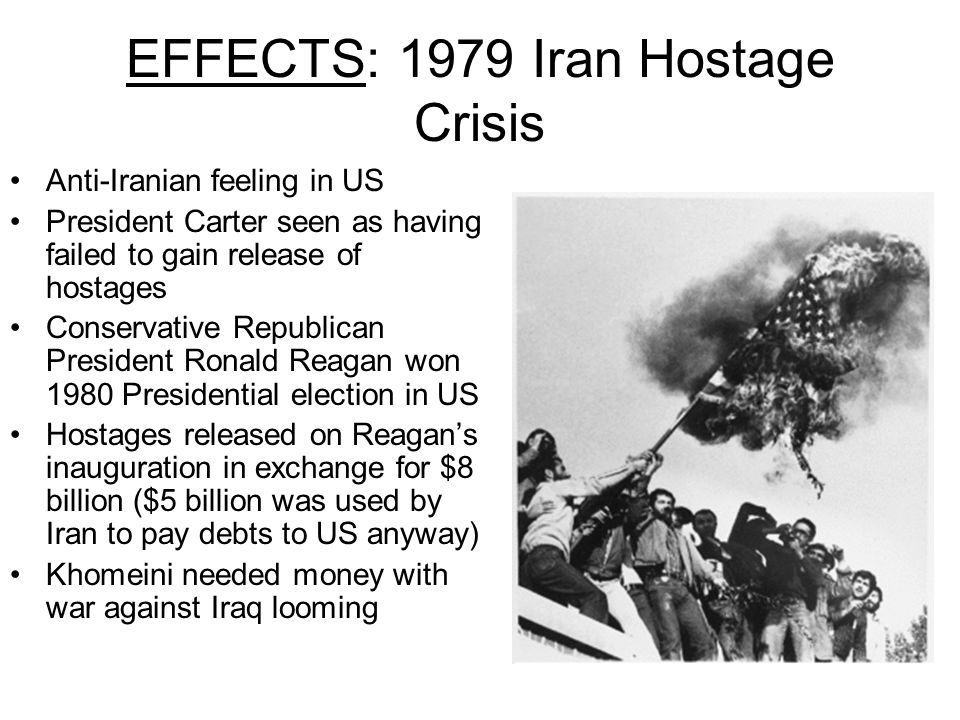 EFFECTS: 1979 Iran Hostage Crisis