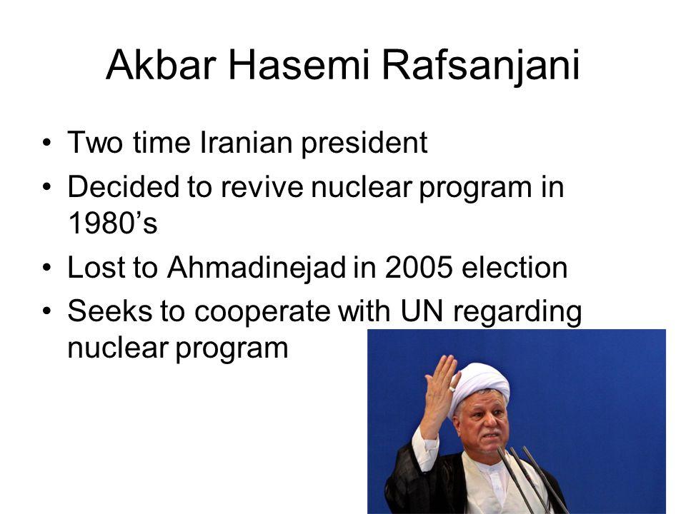 Akbar Hasemi Rafsanjani
