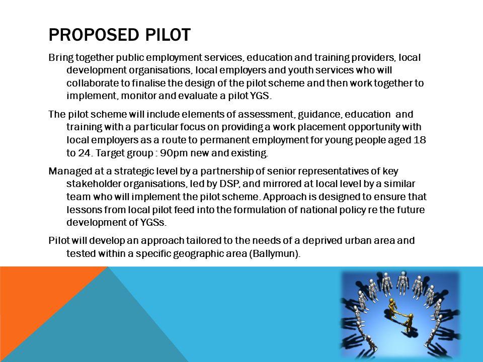 Proposed Pilot