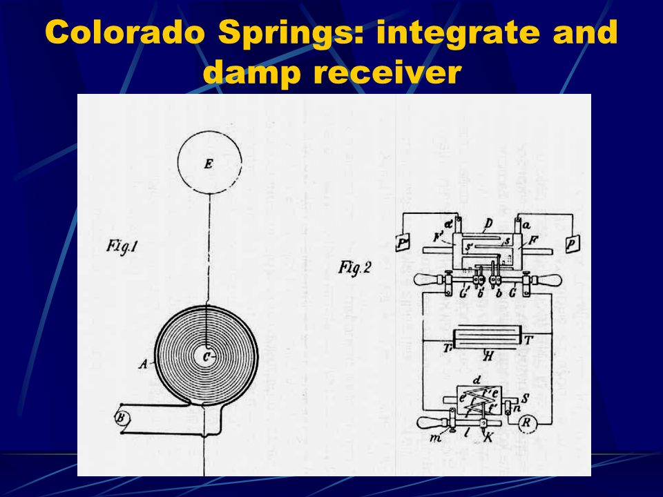 Colorado Springs: integrate and damp receiver