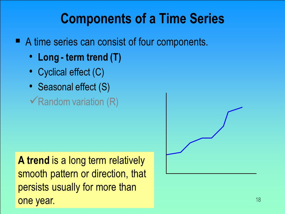Components of a Time Series