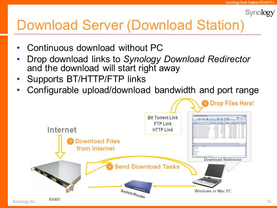 Download Server (Download Station)