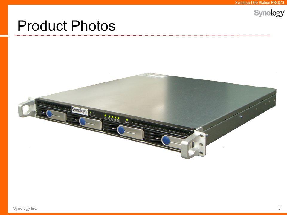 Product Photos Synology Inc.