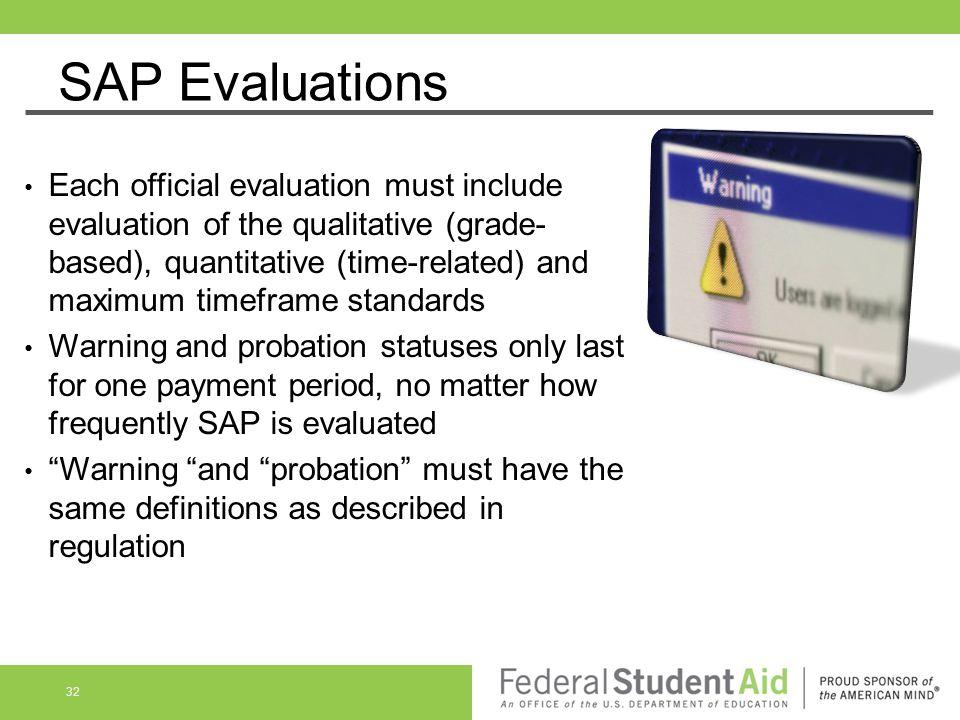 SAP Evaluations
