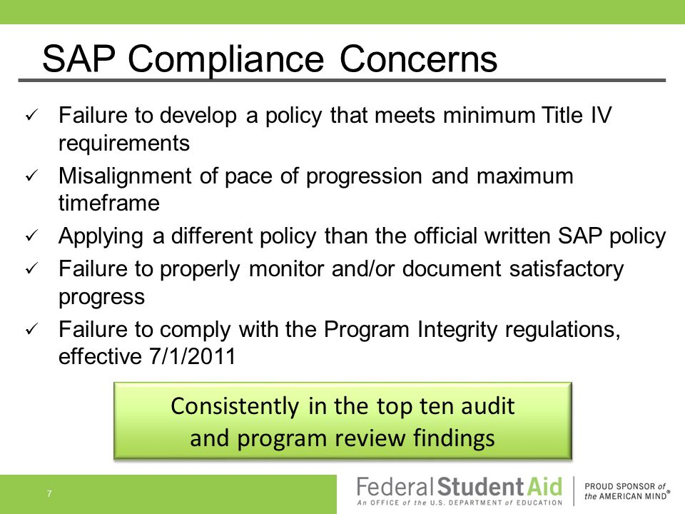 SAP Compliance Concerns