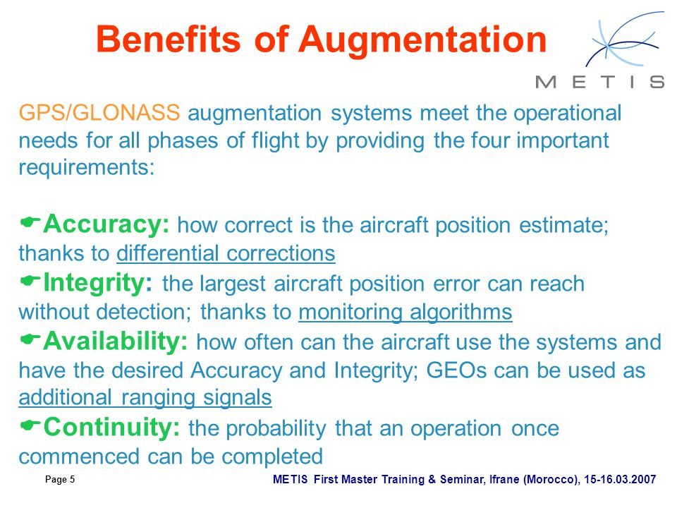 Benefits of Augmentation