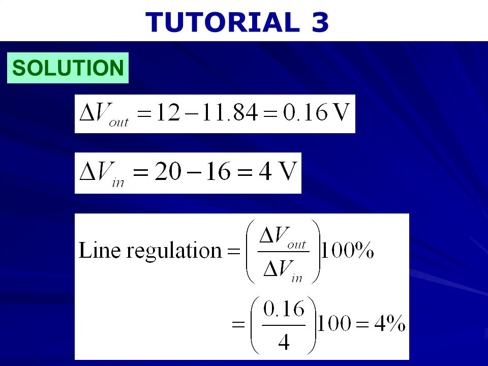 TUTORIAL 3 SOLUTION