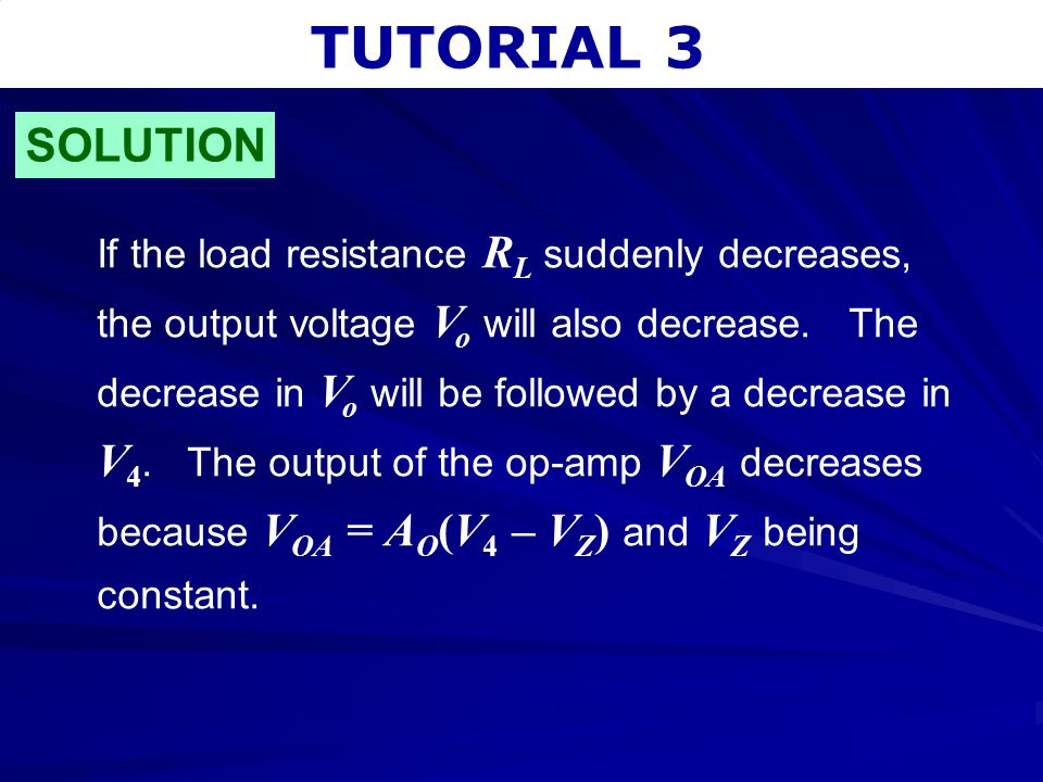 TUTORIAL 3 SOLUTION.