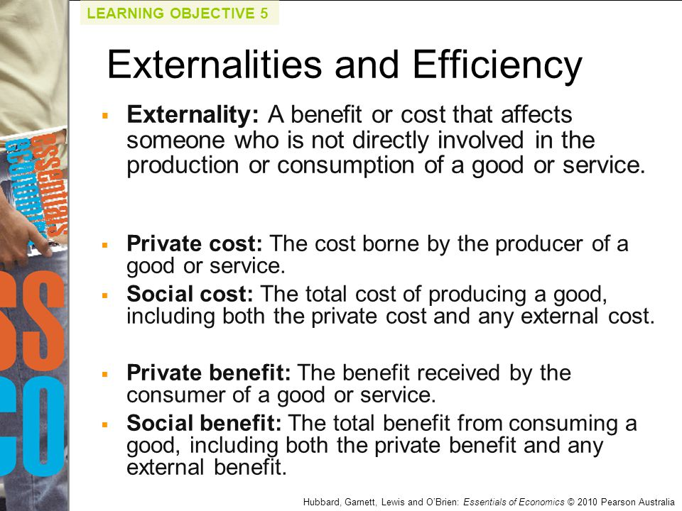 Externalities and Efficiency
