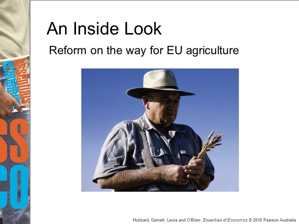 An Inside Look Reform on the way for EU agriculture