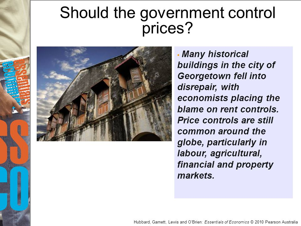 Should the government control prices